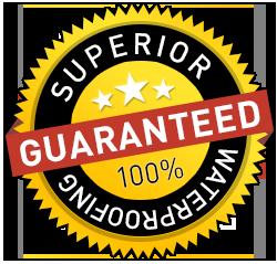 guaranteed superior waterproofing - HYDRABLOCK PRO
